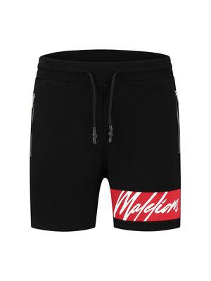 Malelions Captain Short - Black/Red