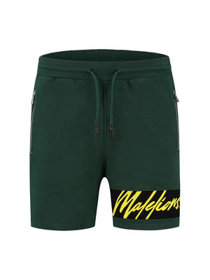Malelions Captain Short - Army/Yellow