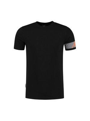 Malelions Captain T-Shirt - Black/Orange