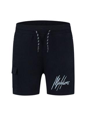 Malelions Pocket Short - Navy/Light Blue