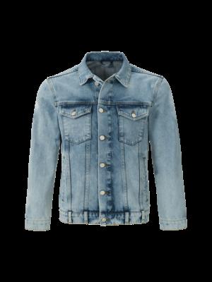 Malelions Junior Junior Denim Jacket Vinegar - Light Blue