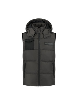 Malelions Pocket Bodywarmer - Antra/Black