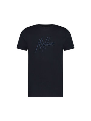 Malelions Essentials T-Shirt - Navy