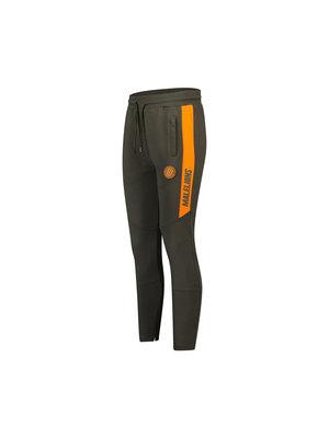 Malelions Sport Sport Coach Trackpants - Army/Orange