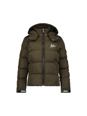 Malelions Junior Junior Patch Puffer - Army