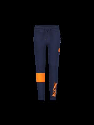 Malelions Junior Junior Sport Captain Trackpants - Navy/Orange