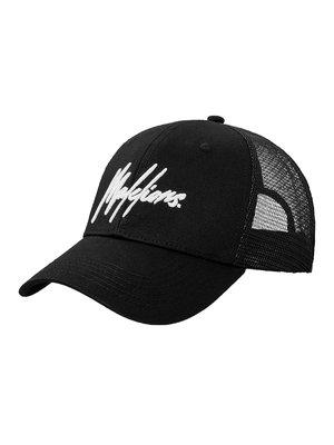 Malelions Junior Junior Sport Signature Cap - Black/White
