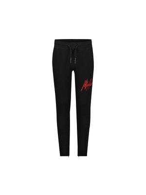 Malelions Junior Junior Signature Trackpants - Black/Red