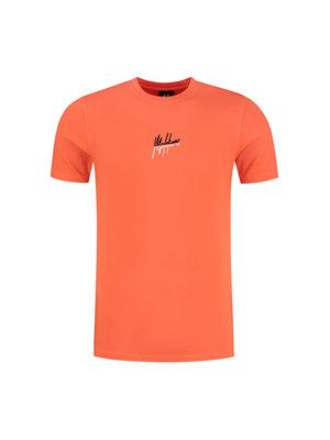 Malelions Men Split Signature T-Shirt - Peach