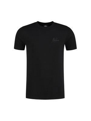 Malelions Men Signature Puff T-Shirt - Black/Antra