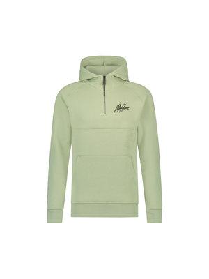 Malelions Half Zip Hoodie - Sage Green