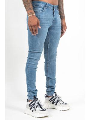Malelions Men Clean Jeans - Light Blue