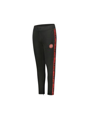 Malelions Junior Junior Sport Warming Up Trackpants - Black/Red