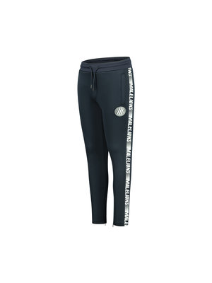 Malelions Junior Junior Sport Warming Up Trackpants - Navy/White