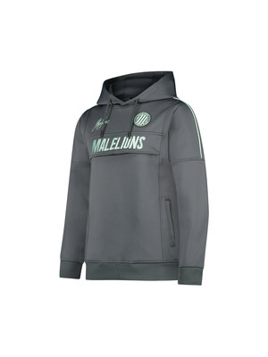 Malelions Junior Junior Sport Warming Up Hoodie - Antra/Mint