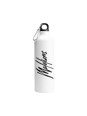 Malelions Signature Travel Bottle - White