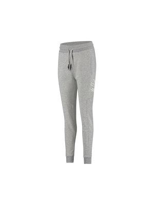 Malelions Women Women Multi Trackpants - Grey Melange/Off-White