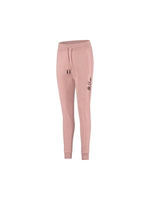 Malelions Women Women Multi Trackpants - Mauve/Dark Antra
