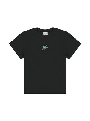 Malelions Women Women Brand T-Shirt - Antra/Mint
