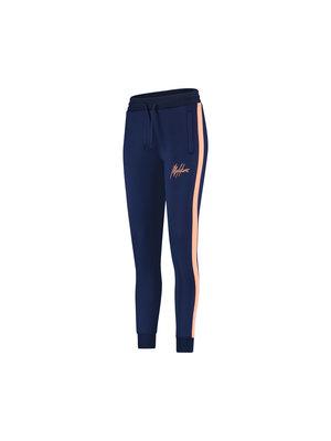 Malelions Women Women Sasha Trackpants - Navy/Salmon