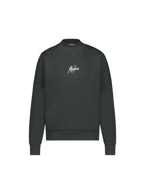 Malelions Women Women Brand Sweater - Antra/Off-White