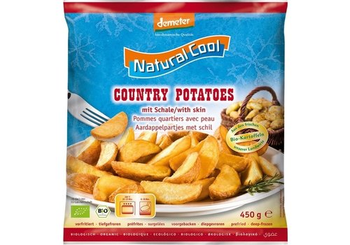 Natural Cool Aardappelpartjes met Schil Biologisch