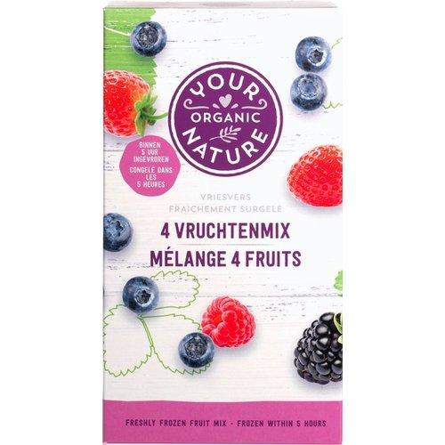 Your Organic Nature 4-Vruchtenmix Biologisch
