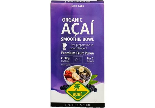 Fine Fruits Club Acai Puree Biologisch