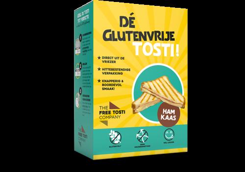 The Free Tosti Company Glutenvrije Tosti Ham Kaas