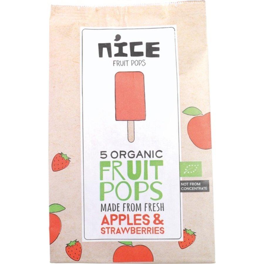 Fruitijsjes Appel Aardbei Biologisch
