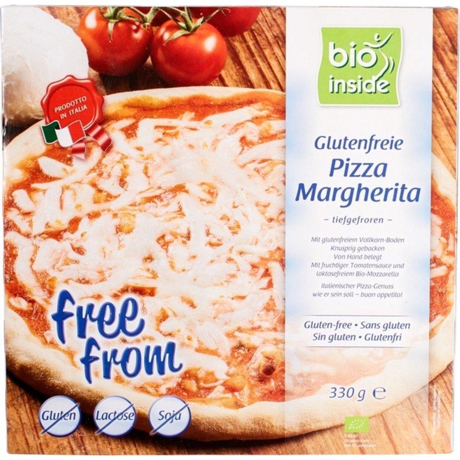 Glutenvrije Pizza Margherita Biologisch