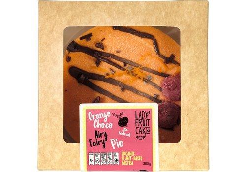 LadyFruitCake Sinaasappel/Choco Airy Fairy Taart Biologisch