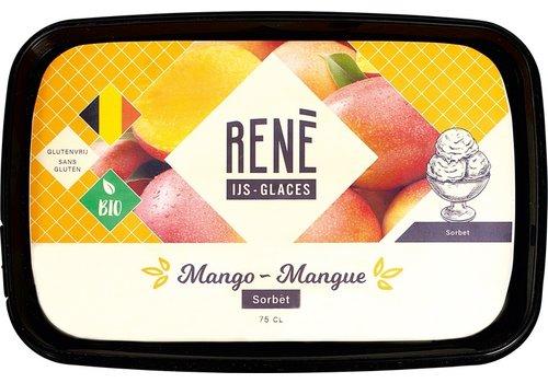 Rene's ijs Mango ijs Biologisch
