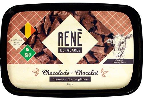 Rene's ijs Chocolade ijs Biologisch