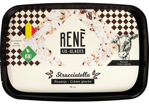Rene's ijs Stracciatella Roomijs Biologisch