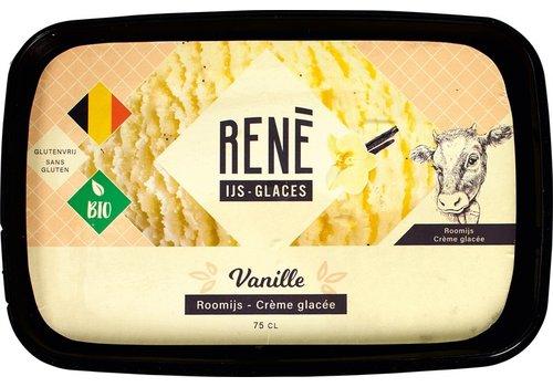 Rene's ijs Vanille Roomijs Biologisch