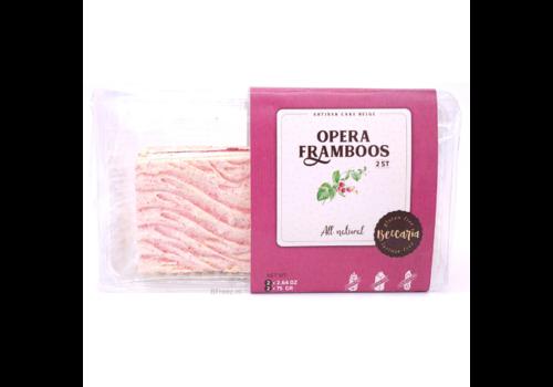 Beccaria Opera Framboos Gebak