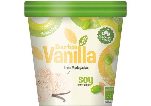 Ice Cream Factory Bourbon Vanille Soja IJs Biologisch