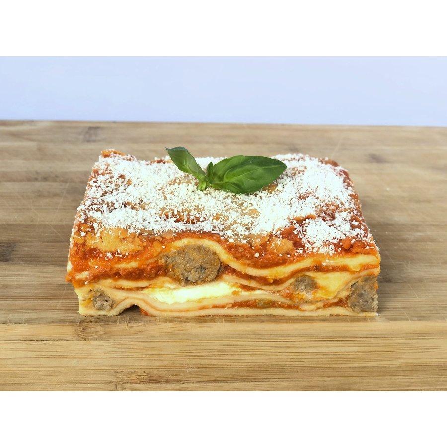 Lasagne Meatballs Ricotta