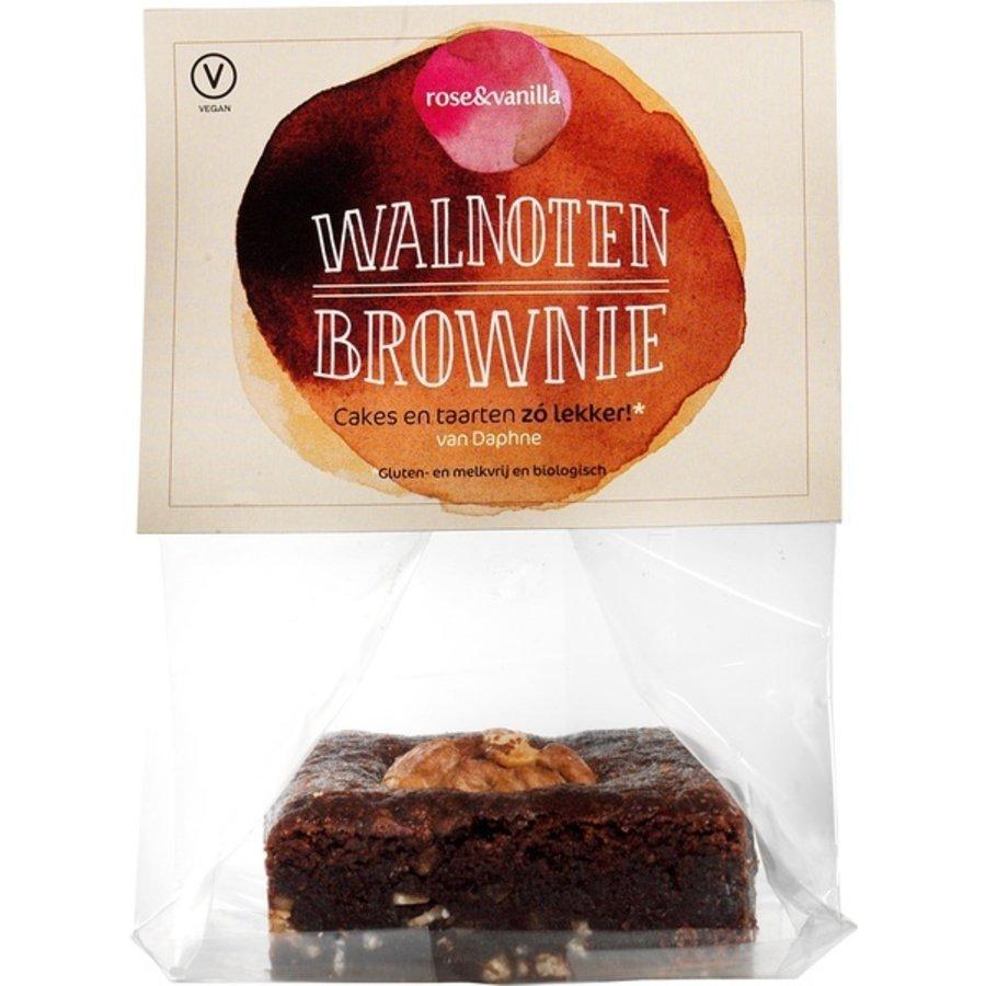 Walnoten brownie Biologisch