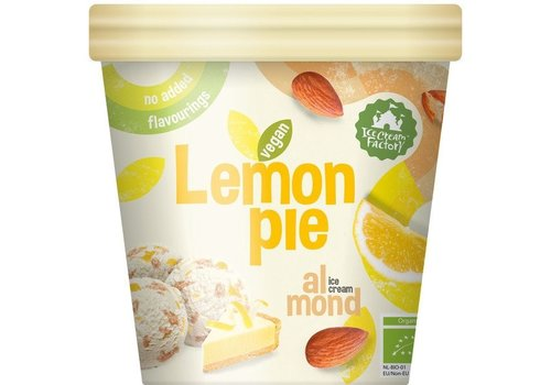 Ice Cream Factory Lemon Pie Almond IJs