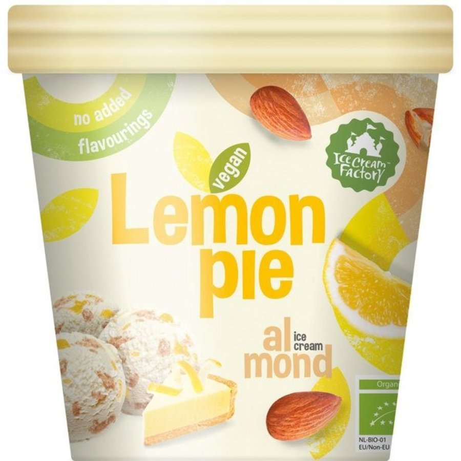 Lemon Pie Almond IJs