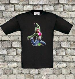 Hiphop dancer t-shirt
