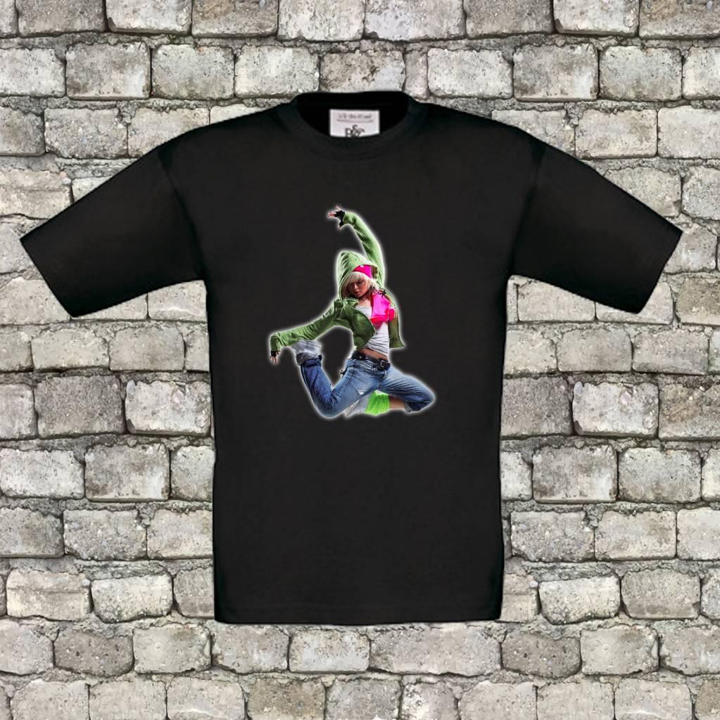 Hiphop dancer t-shirt  - geen verzendkosten