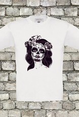 Catrina skull t-shirt - geen verzendkosten