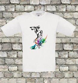 Hiphop dancer shirt