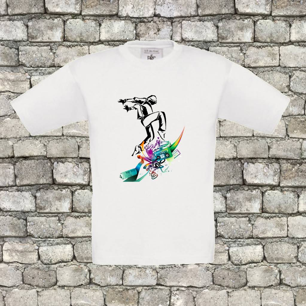 Hiphop dancer shirt - geen verzendkosten