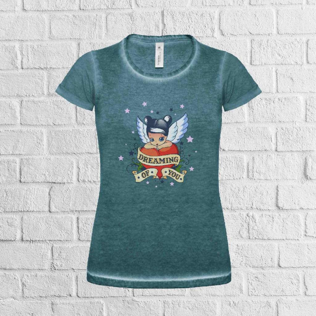 Dreaming of you tattoo t-shirt - geen verzendkosten