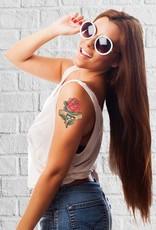 Tijdelijke tattoo roos - papa