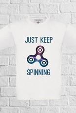 Fidget spinner t-shirt- geen verzendkosten